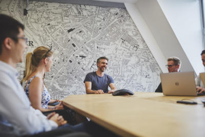 The Cathedral Meeting room, Crowdcube HQ
